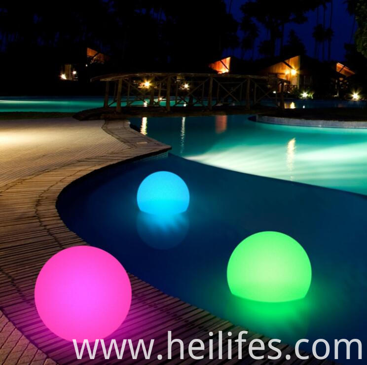 SPA Swimming Pool LED ball