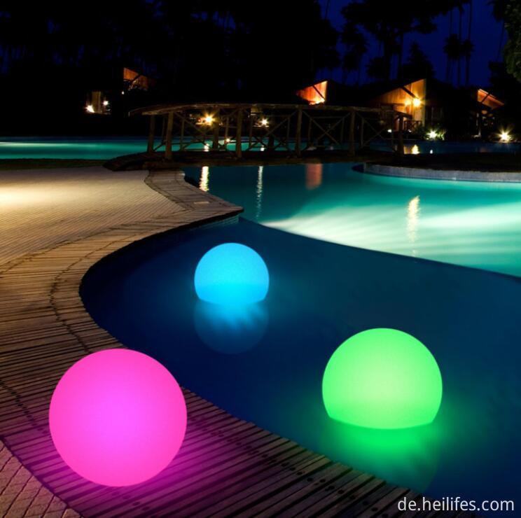 16 colors Lake Ball light