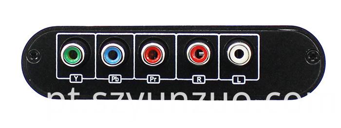 YPbPr converter to HDMI