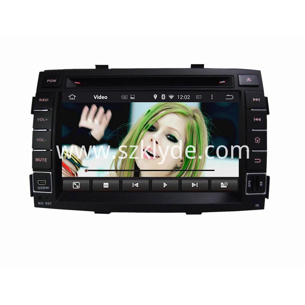 android 6.0 car DVD for Kia SORENTO 2011