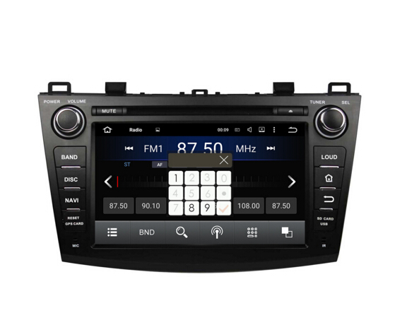 Android Car Dvd for MAZDA 3 2009-2012