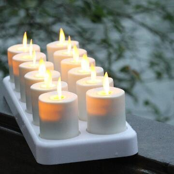 moving wick luminara tealight
