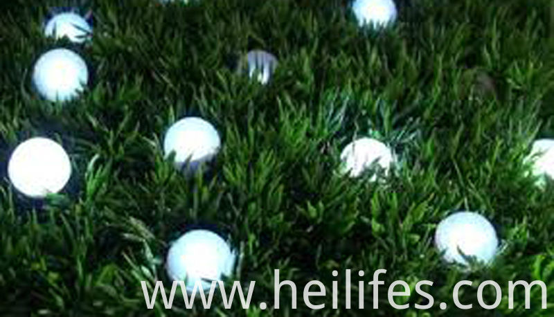 garden led ball light