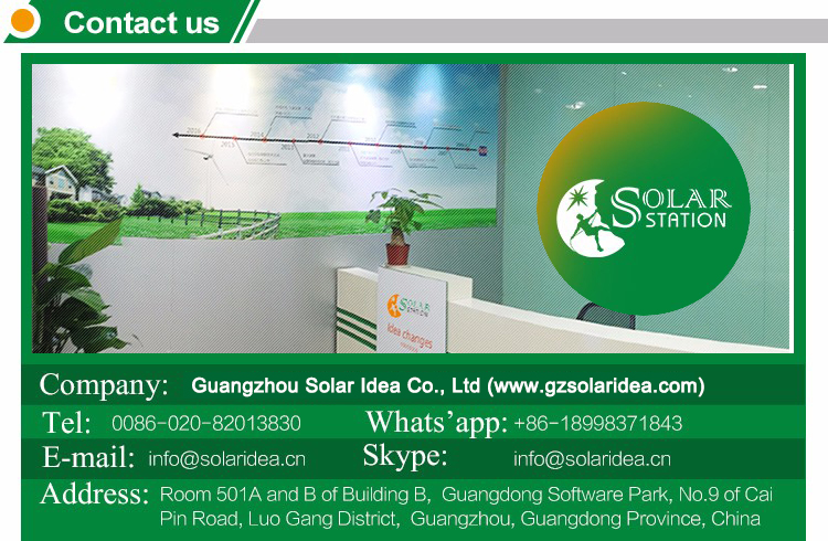 Solar Panel Battery Charger contact information