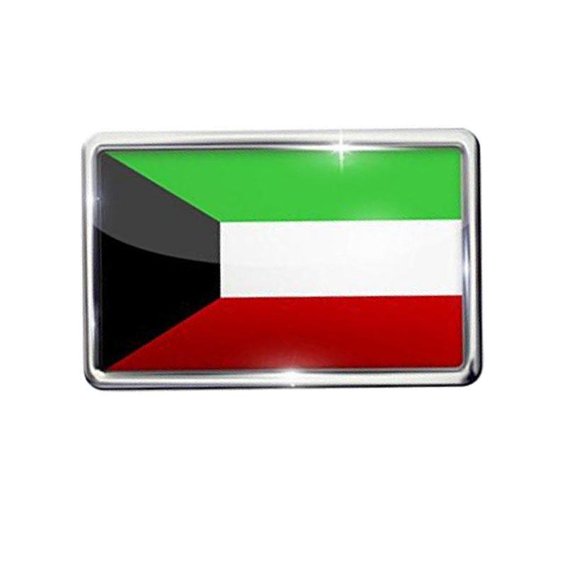 Pin Kuwait Flag Lapel Badge