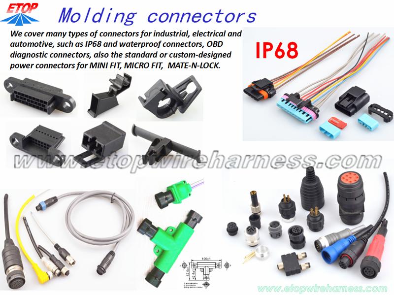 MOLDING CONNECTORS