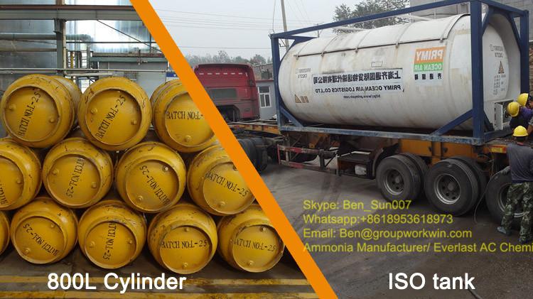 Ammonia Cylinder Tank