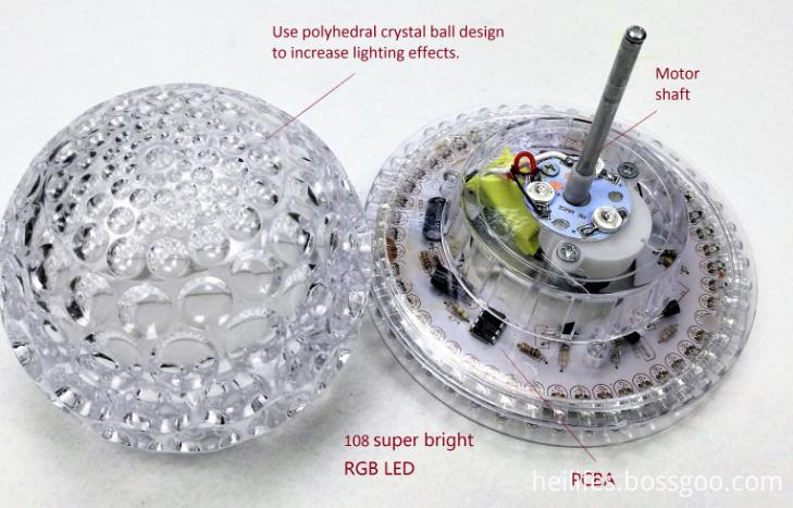 Light Toys for Gift of Crystal ball LED