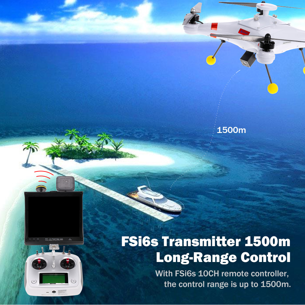 Professional Fishing Quadcopter