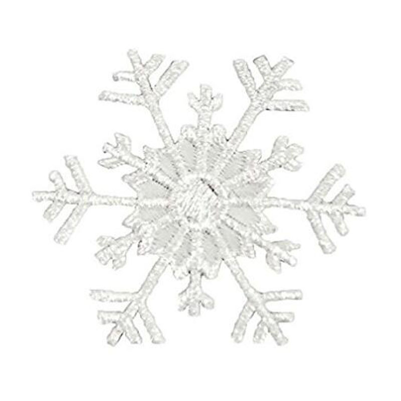 Snowflake Iron On Applique Patch