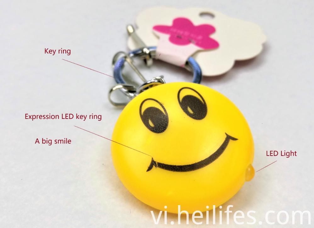 Smile Led Key Ring