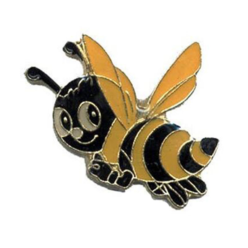 Cute Happy Bee Hat Lapel Pins