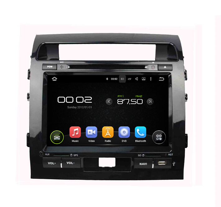 GPS Navigation car dvd player  TOYOTA Land Cruiser