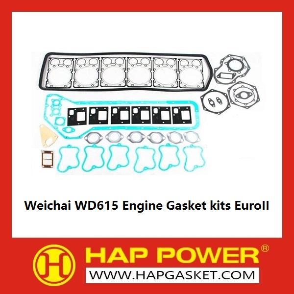 HAP-HD-011 Weichai WD615 Engine Gasket kits EuroII