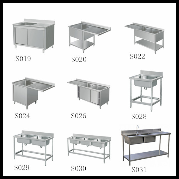 More sink models available