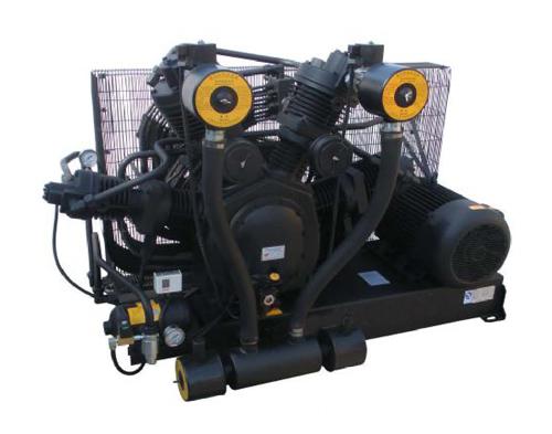 Pressurized medium pressure air compressor