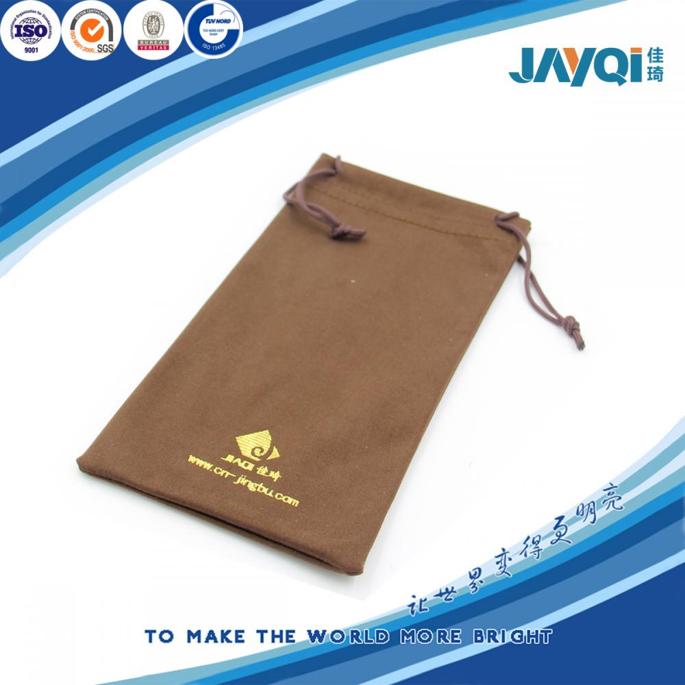Bronzing Microfiber Pouches for Cell Phone