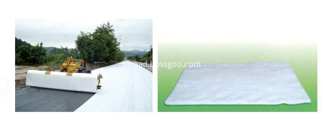 Polyester non-woven geotextiles