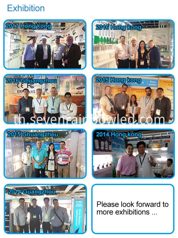 exhibition of LED G12 light