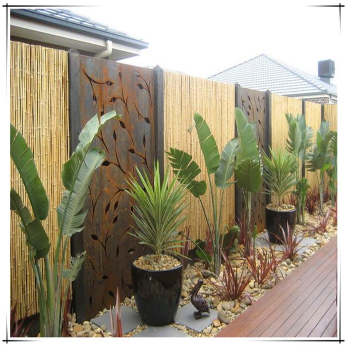 garden steel screen