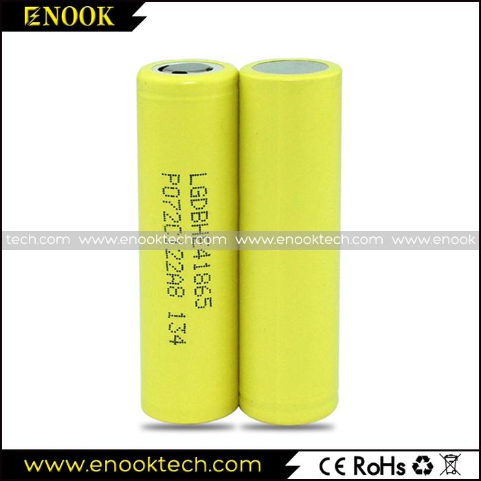 LG HE4 18650 2500mAh 3.7V Vaporizer Battery
