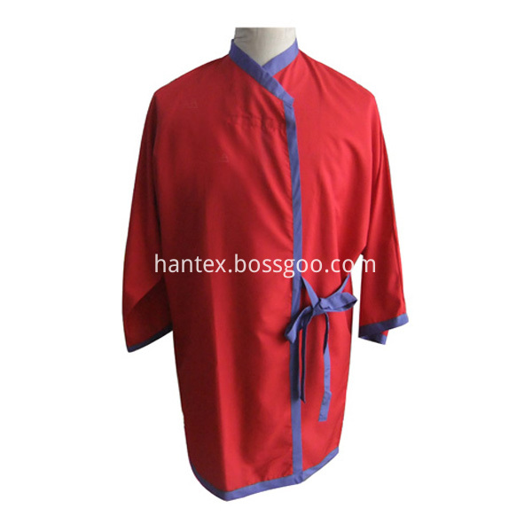 Hair apron and work clothing
