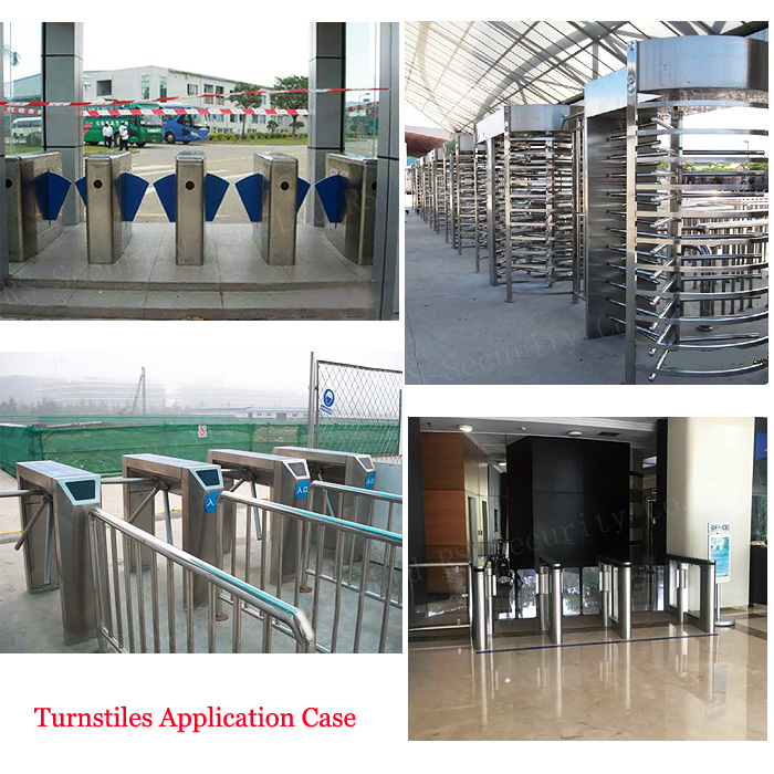 Access Control Turnstiles Application