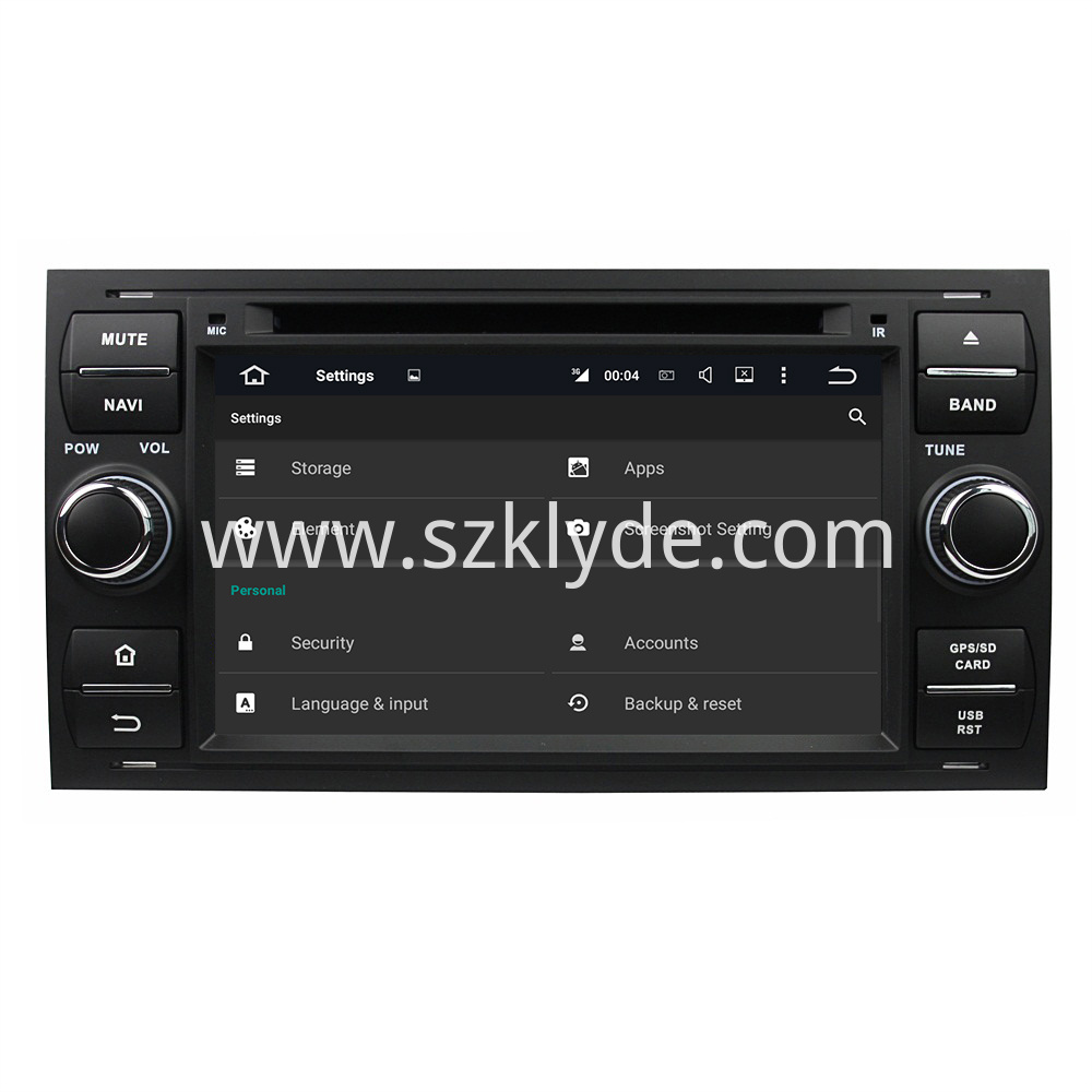 7 1 Radio Stereo For Ford Mondeo