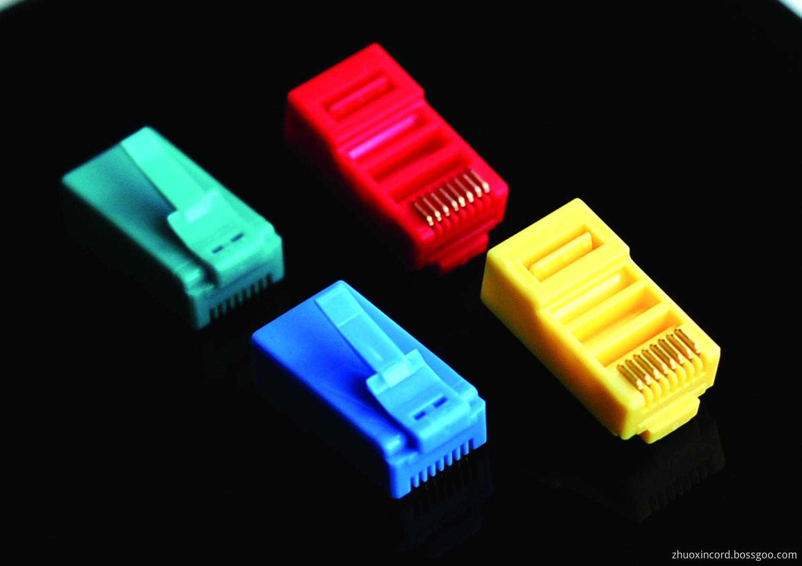 Different Color RJ45 Connectors
