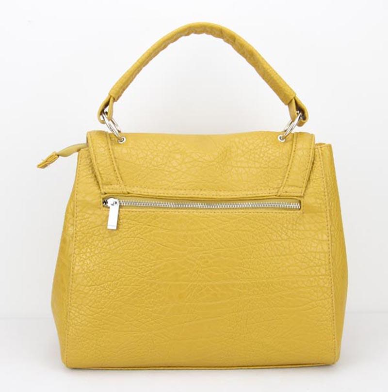 PU Satchel Shoulder Handbag