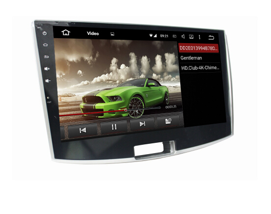 Android 7.1 car audio video for VW Magotan