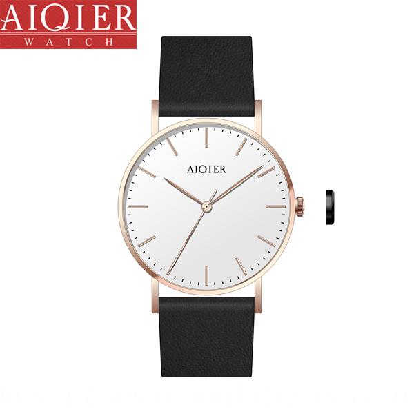 Popular swiss quartz classic unisex watch