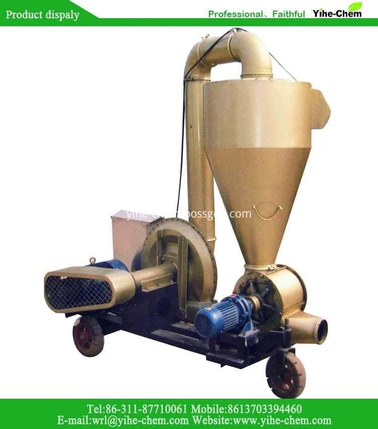 Strong power pneumatic grain conveyor