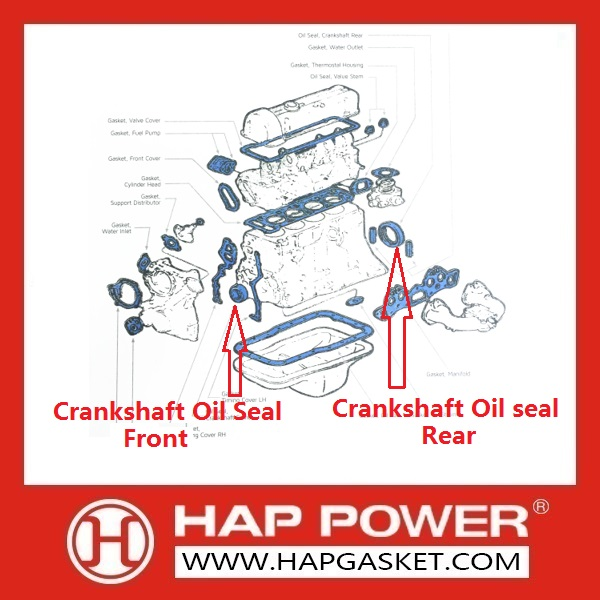 Oil Seals-HAP gasket