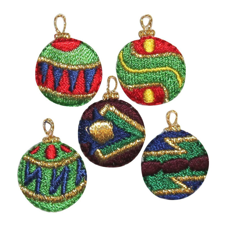 Christmas Ornaments Holiday Patch