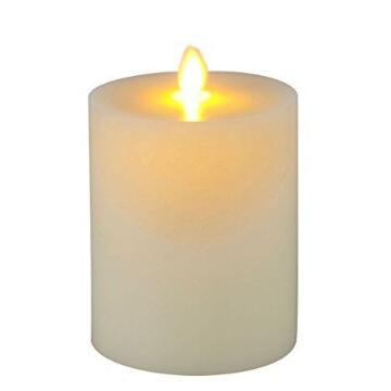 flat top luminara candle