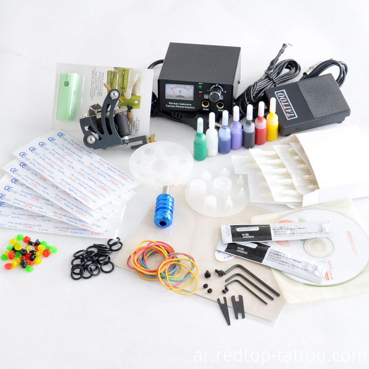 Rotary tattoo machine kit
