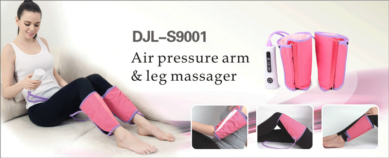 Comfortable Air Compression Arms Calf Massager