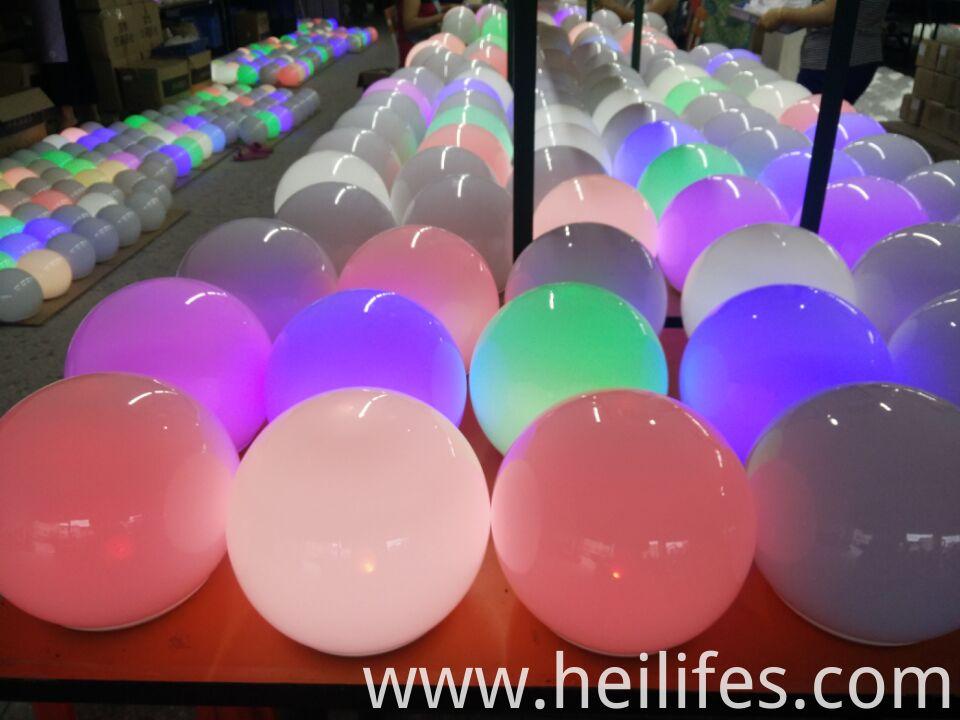Flash Colors LED ball light