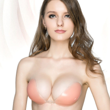 Strapless Self Adhesive Silicone Invisible Push-up Bra