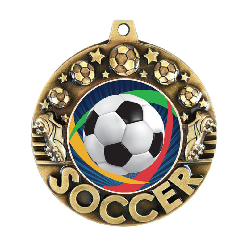 Majestic Soccer Medals
