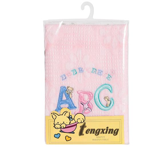 acrylic knitted baby shawl