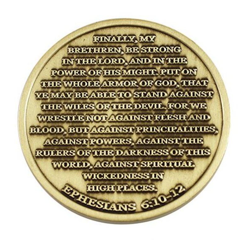 High Relief Challenge Coins