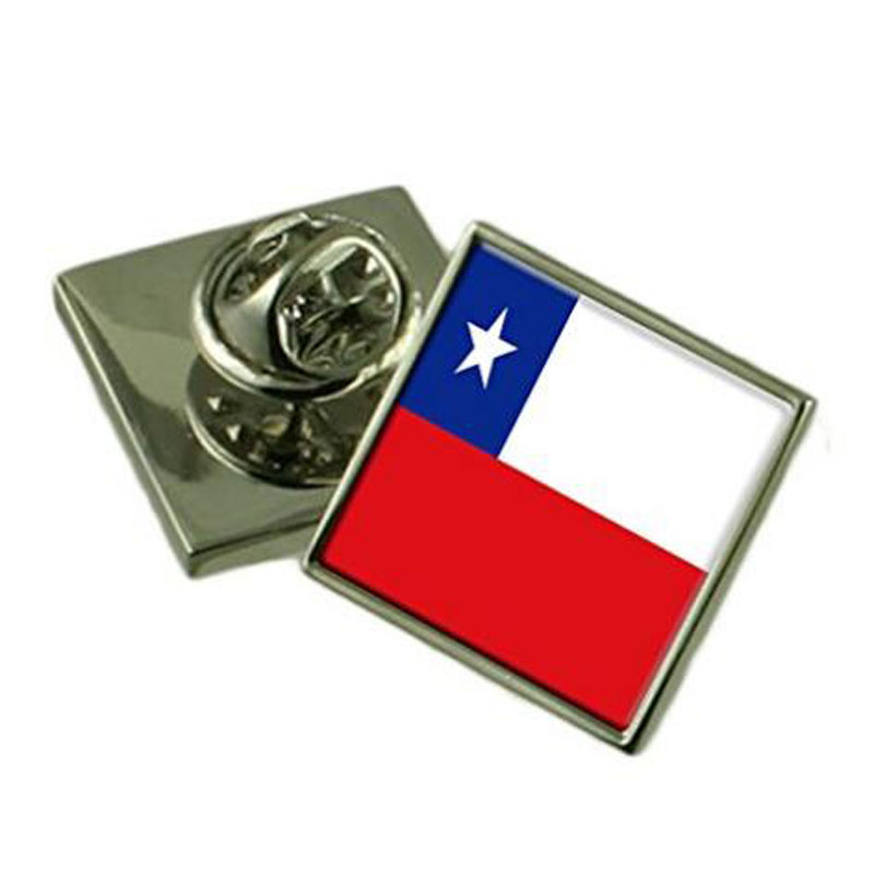 Chile Flag Lapel Pin Badge