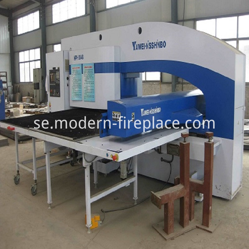 Contemporary Wood Burning Stoves Production