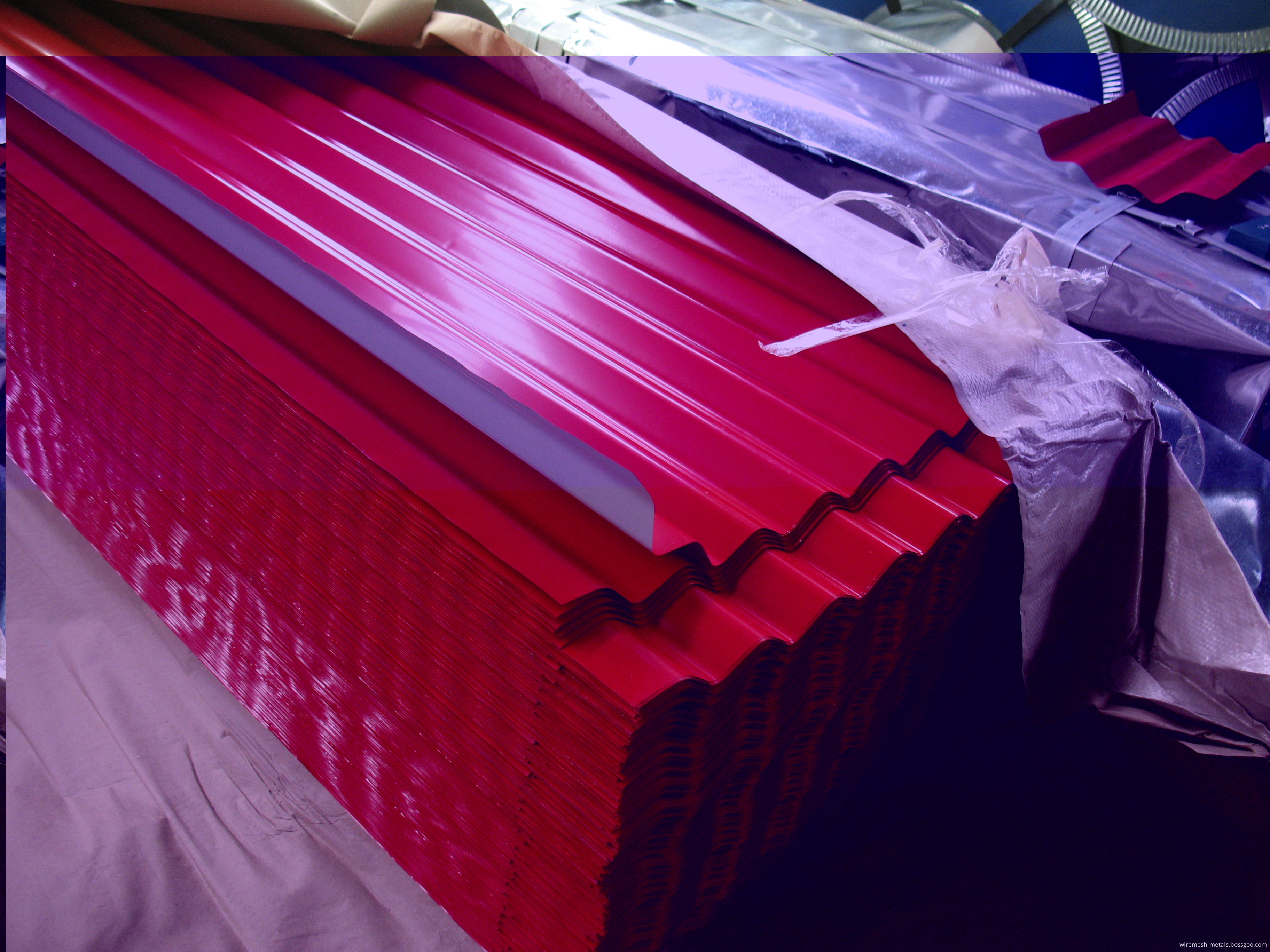 corruggated roofing sheet
