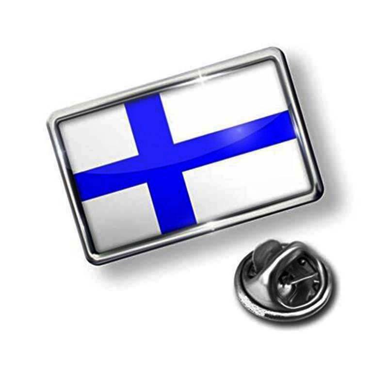 Pin Finland Flag Lapel Badge