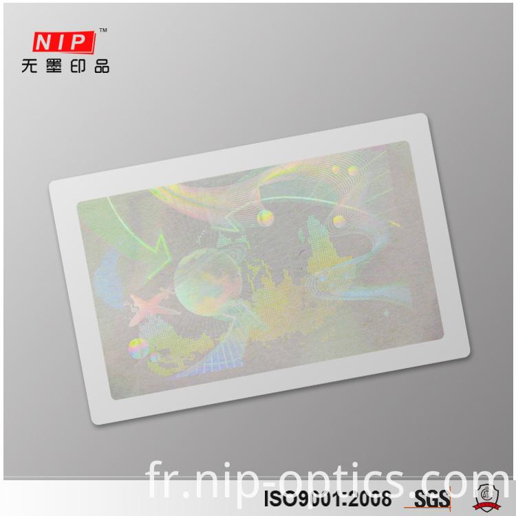 custom hologram sticker