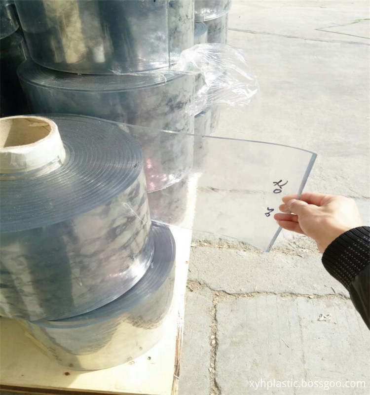 PVC Strip Curtain Film Roll