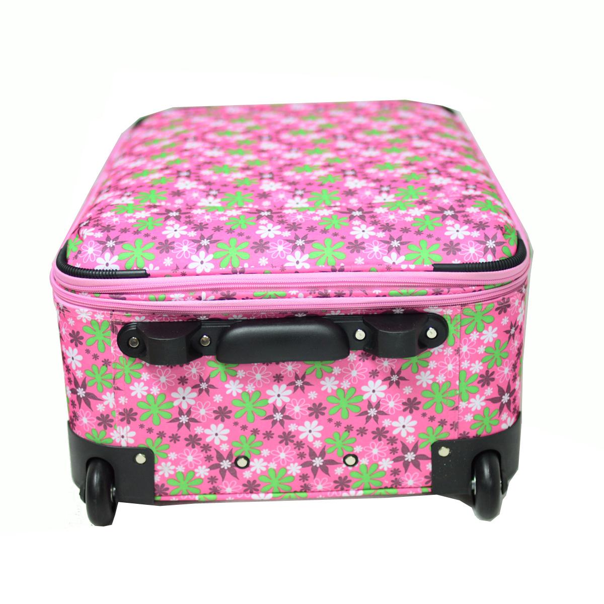 2 Wheels EVA Trolley Case